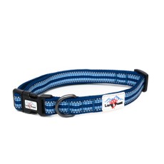 Long Paws Comfort Collection Collar Large Navy Blue