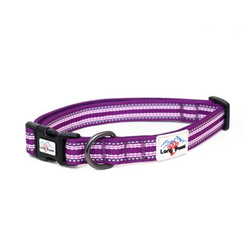 Long Paws Comfort Collection Collar Small Purple