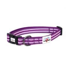 Long Paws Comfort Collection Collar Large Purple