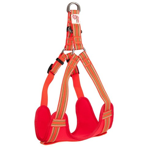 Long Paws Comfort Collection Harness Medium Orange