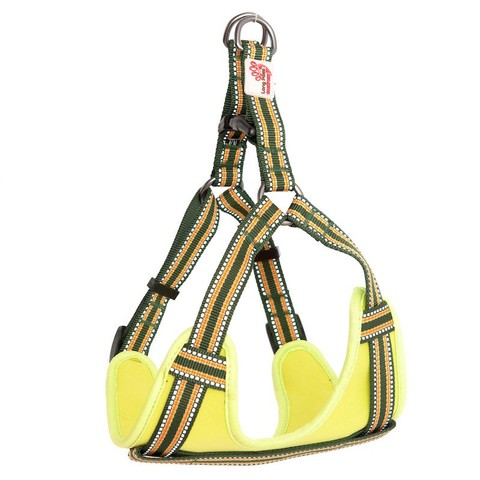 Long Paws Comfort Collection Harness Small Green