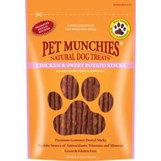 Pet Munchies Dog Treats - Chicken & Sweet Potato Sticks 90g