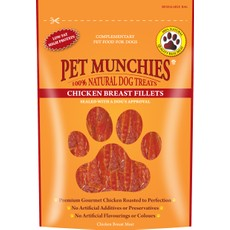 Pet Munchies Chicken Breast Fillet 100g