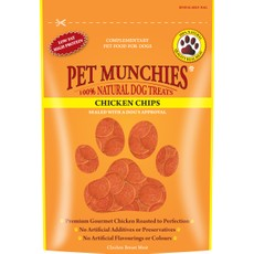 Pet Munchies Dog Treats - Chicken Chips 100g