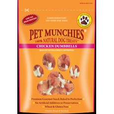 Pet Munchies Dog Treats - Chicken Dumbbells 80g
