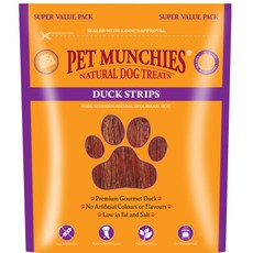 Pet Munchies Dog Treats - Duck Strips 320g