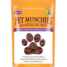 Pet Munchies Dog Training Treats Liver & Chicken 50g