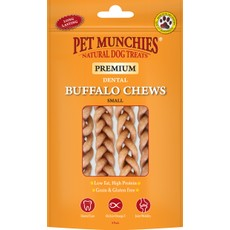 Pet Munchies Dog Buffalo Chews Small 4pk
