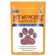 Pet Munchies Dog Training Treats Venison 50g