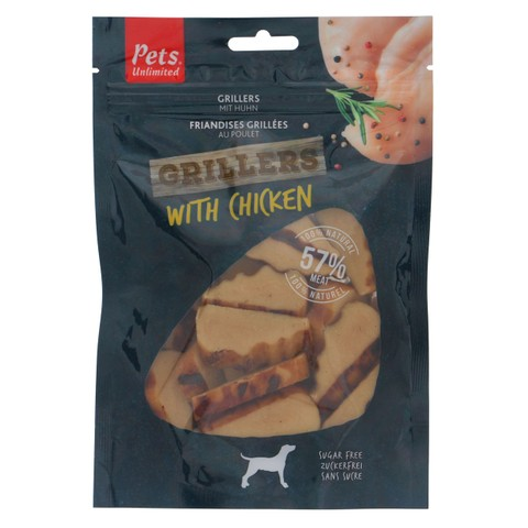 Pets Unlimited Grillers Chicken 100g