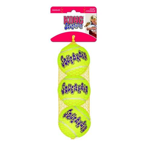 Kong Air Squeaker Tennis Ball (3pk) Small