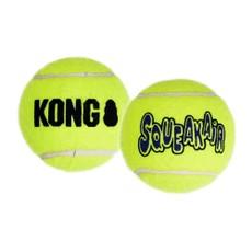Kong Air Squeaker Tennis Ball (2pk) Large