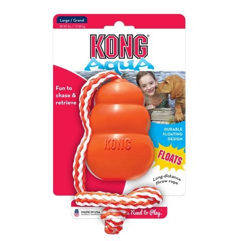 Kong Cool Aqua On Rope Large
