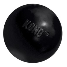 Kong Extreme Ball Black Med/large