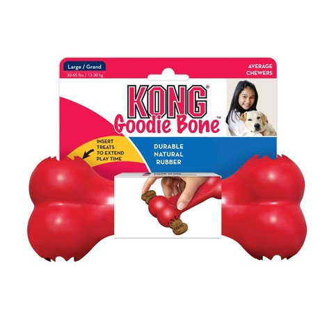 Kong Red Rubber Goodie Bone Large