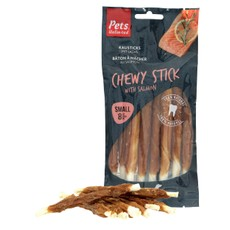 Pets Unlimited Chewy Sticks With Salmon 8 Pc