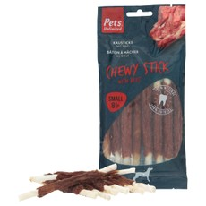 Pets Unlimited Chewy Sticks With Beef 8 Pc