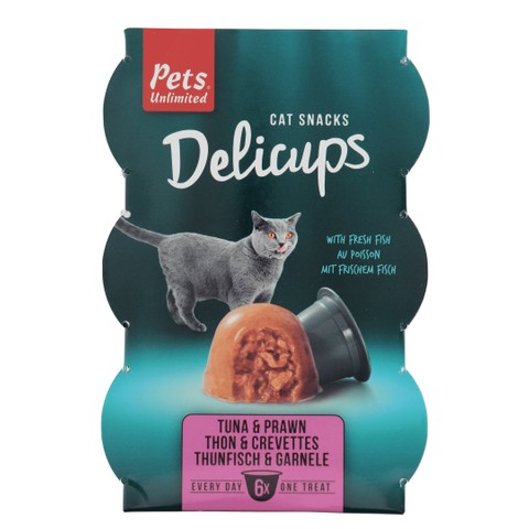 Pets Unlimited Delicups Tuna & Prawn
