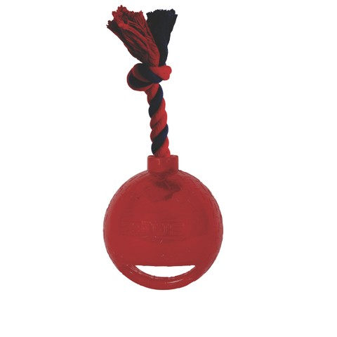 Spark Led Tug Toy With Rope Red Small