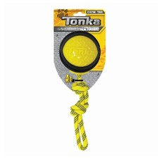(d) Tonka Diamond Clad Rope Ball, 4in