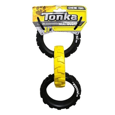 (d) Tonka Flex Tread 3-ring Tug, 10.5in