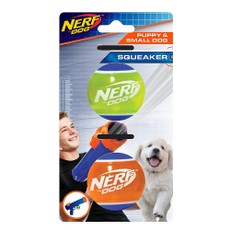 Nerf Dog Puppy Tpr Tennis Ball 2pk (2