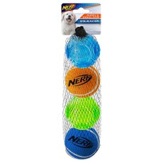 Nerf Dog Puppy Tpr Sonic/tennis Ball 4pk (2