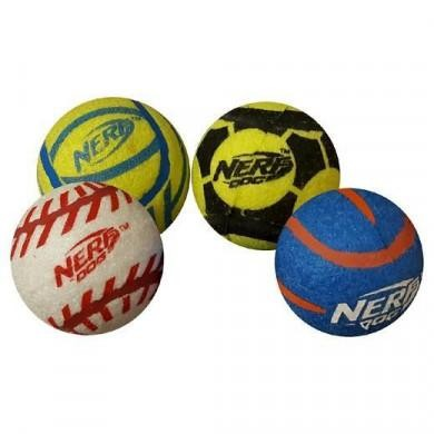 "Nerf Mega Strength Sports Balls 4pk Medium (2.5"")"