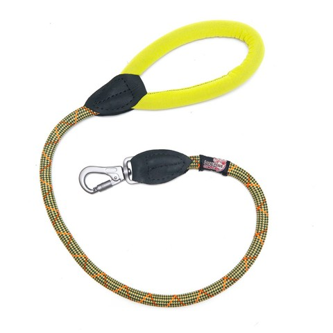 Long Paws Rope Leash S Green