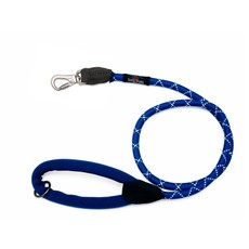 Long Paws Rope Leash Large Navy Blue