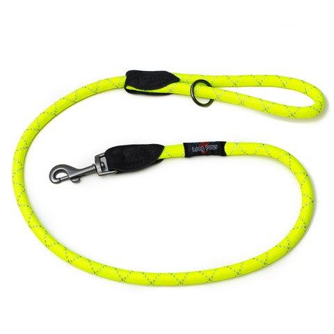 Long Paws Reflective Rope Leash Medium