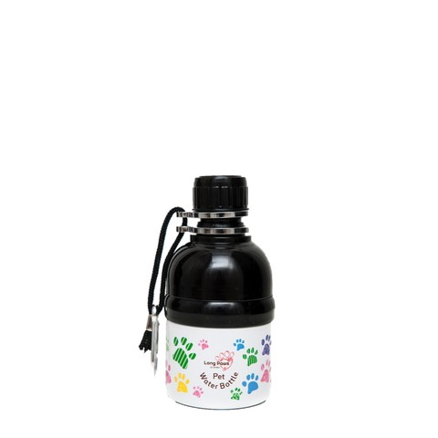 Pet Water Bottle 250ml Paws