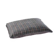 Gor Pets Premium Comfy Cushion Large (76x117cm) Grey Check