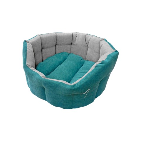 "Camden Deluxe Bed Large 76cm(30"") Teal"