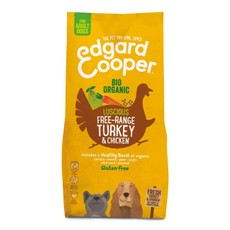 Edgard & Cooper Organic Adult Grain Free Dry Dog Food With Turkey 2.5kg