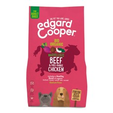 Edgard & Cooper Organic Adult Grain Free Dry Dog Food With Beef 2.5kg