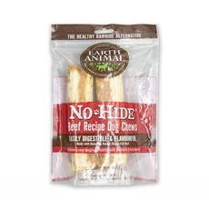 Earth Animal No Hide Beef Small Chews 2pk 68g