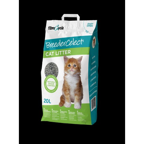 Breeder Celect Non Clumping Cat Litter 10 Litre To 30 Litre
