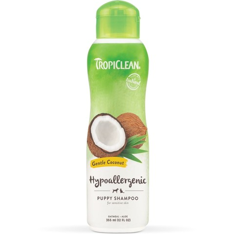 Tropiclean Gentle Coconut Shampoo 355ml