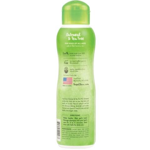 Tropiclean Oatmeal & Tea Tree Shampoo 355ml