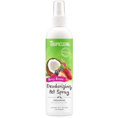 Tropiclean Berry Breeze Deodorant Spray 236ml