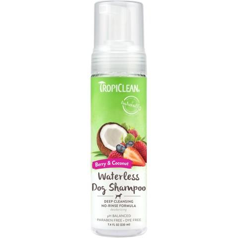 Tropiclean Deep Cleaning Waterless Shampoo 220ml