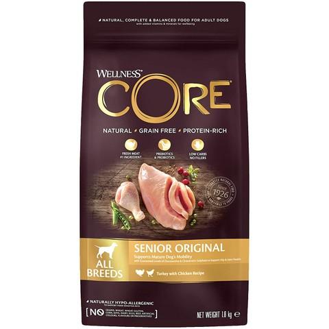 Wellness Core Senior Chicken And Turkey Grain Free Dry Dog Food 10kg