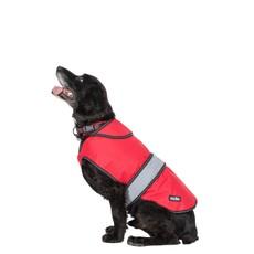 Duke 2 In 1 Red Waterproof Dog Jacket (l)