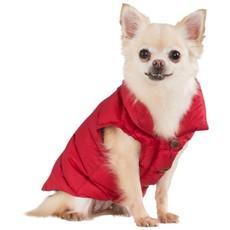 Trespaws Postbox Red Dogby Down Dog Jacket (xxs)