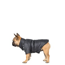 Trespaws Khaos Black Waterproof Dog Raincoat Tp50 (s)