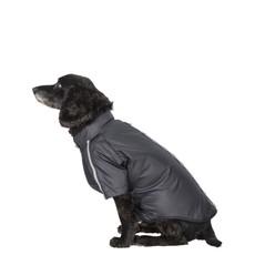 Trespaws Khaos Black Waterproof Dog Raincoat Tp50 (m)