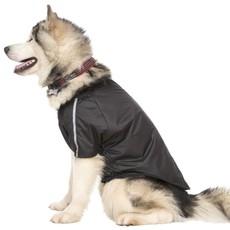 Trespaws Khaos Black Waterproof Dog Raincoat Tp50 (xl)