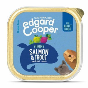 Edgard & Cooper Adult Grain Free Wet Dog Food With Salmon & Trout 11 X  150g