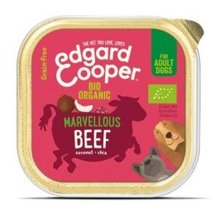 Edgard & Cooper Organic Adult Grain Free Wet Dog Food With Beef 17 X  100g